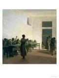 The Madhouse, 1865 Reproduction procédé giclée par Telemaco Signorini