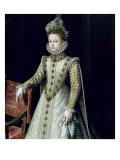 The Infanta Isabel Clara Eugenie 1579 Giclee Print by Alonso Sanchez Coello