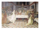 The Feast of Herod Premium Giclee Print by Fra Filippo Lippi