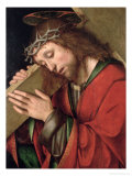 Christ Carrying the Cross Giclee Print by Gian Francesco De' Maineri