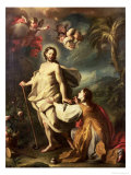 Noli Me Tangere Gicle-tryk af Francesco Solimena