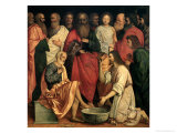 Christ Washing the Disciples' Feet Giclee Print by Boccaccio Boccaccino