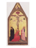Crucifixion, 1343 Gicle-tryk af Bernardo Daddi