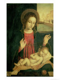 Madonna and Child Giclee Print by Ambrogio Borgognone