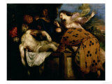 The Entombment of Christ Giclee Print by  Titian (Tiziano Vecelli)