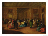 The Foyer Giclee Print by Francesco Guardi