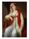 Madame Guiseppina Grassini in the Role of Zaire, 1805 Giclee Print by Elisabeth Louise Vigee-LeBrun
