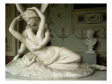 Cupid and Psyche, 1796 Giclee Print by Antonio Canova