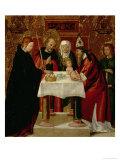 The Circumcision and the Presentation in the Temple, circa 1535 Giclee Print by Juan de Borgona