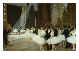 In the Wings at the Opera House, 1889 Giclee Print by Jean Béraud