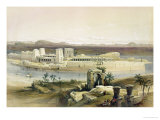"General View of the Island of Philae, Nubia, from ""Egypt and Nubia"", Vol.1 Giclee Print by David Roberts"