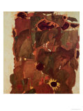 Sunflowers, 1911 Giclee Print by Egon Schiele