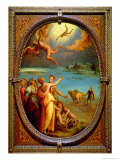 The Fall of Icarus, 1572 Giclee Print by Maso Da San Friano