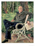 Portrait of Sergei Sergeevich Prokofiev, 1934 Giclee Print by Petr Petrovic Konchalovsky