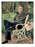 Portrait of Sergei Sergeevich Prokofiev, 1934 Giclee Print by Petr Petrovic Konchalovsky