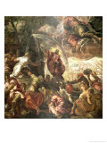 Moses Striking Water from the Rock, 1575 Giclee Print by Jacopo Robusti Tintoretto