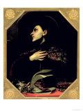 St. Casimir Giclée-tryk af Carlo Dolci