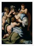 Charity Giclee Print by Bernardo Strozzi