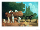 The Harvest Wagon Giclee Print by George Stubbs
