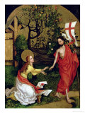 Altarpiece of the Dominicans: Noli Me Tangere, circa 1470-80 Giclee Print by Martin Schongauer