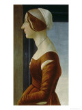Portrait of a Woman Giclee Print by Sandro Botticelli