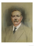 Portrait of Sir Arthur Conan Doyle, 20th Century Giclee Print by William Henry Gates