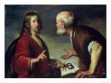 The Delivery of the Keys to St. Peter Giclee Print by Bernardo Strozzi