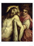 The Entombment Giclee Print by Jacopo Palma
