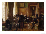 The Salon of the Countess Potocka, 1887 Giclee Print by Jean Béraud