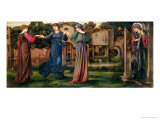 The Mill, 1872-80 Giclee Print by Edward Burne-Jones