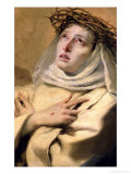 St. Catherine of Siena, circa 1746 Giclee Print by Giovanni Battista Tiepolo