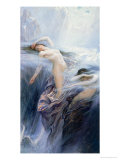 Study for &quot;Clyties of the Mist&quot; Giclee Print by Herbert James Draper