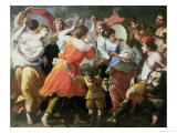 The Triumph of David, 1673 Giclee Print by Michele Ragoglia
