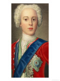 "Prince Charles Edward Louis Philip Casimir Stewart the Young Pretender or ""Bonnie Prince Charlie"" Giclee Print"