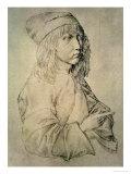 Self Portrait at the Age of Thirteen, 1484 Giclée-Druck von Albrecht Dürer