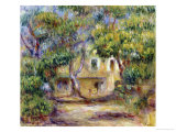 The Farm at Les Collettes, circa 1915 Giclee Print by Pierre-Auguste Renoir