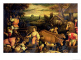 The Four Seasons: Autumn Giclee Print by Jacopo Bassano
