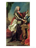 Portrait of the Regent, Philippe D'Orleans Giclee Print by Carle van Loo