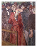 Au Moulin de La Galette, 1891 Giclee Print by Henri de Toulouse-Lautrec