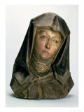 Head of St. Anne, 1500-10 Giclee Print by Tilman Riemenschneider