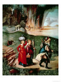 Lot and His Daughters, circa 1505 Giclee Print by Albrecht Dürer