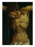 The Crucifixion from the Isenheim Altarpiece, Detail of Christ's Torso, circa 1512-16 Giclee Print by Matthias Grünewald