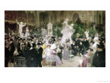 Friday at the French Artists&#39; Salon, 1911 Giclee Print by Jules-Alexandre Gr&#252;n