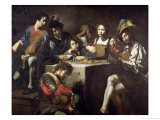 Concert Around the Bas-Relief Giclee Print by Valentin de Boulogne 