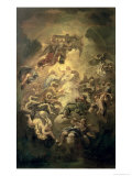 Christ in Glory Giclee Print by Luca Giordano
