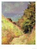 Chemin de La Cavee, Pourville, 1882 Giclee Print by Claude Monet