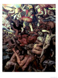 Fall of the Rebel Angels, 1554 Reproduction proc&#233;d&#233; gicl&#233;e par Frans Floris