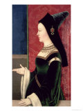 Maria of Burgundy Giclee Print by Niclas Reiser