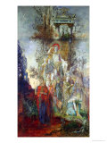 The Muses Leaving Their Father Apollo to Go out and Light the World, 1868 Giclee Print by Gustave Moreau