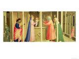 The Presentation in the Temple, from the Predella of the Annunciation Altarpiece Giclee Print by  Fra Angelico